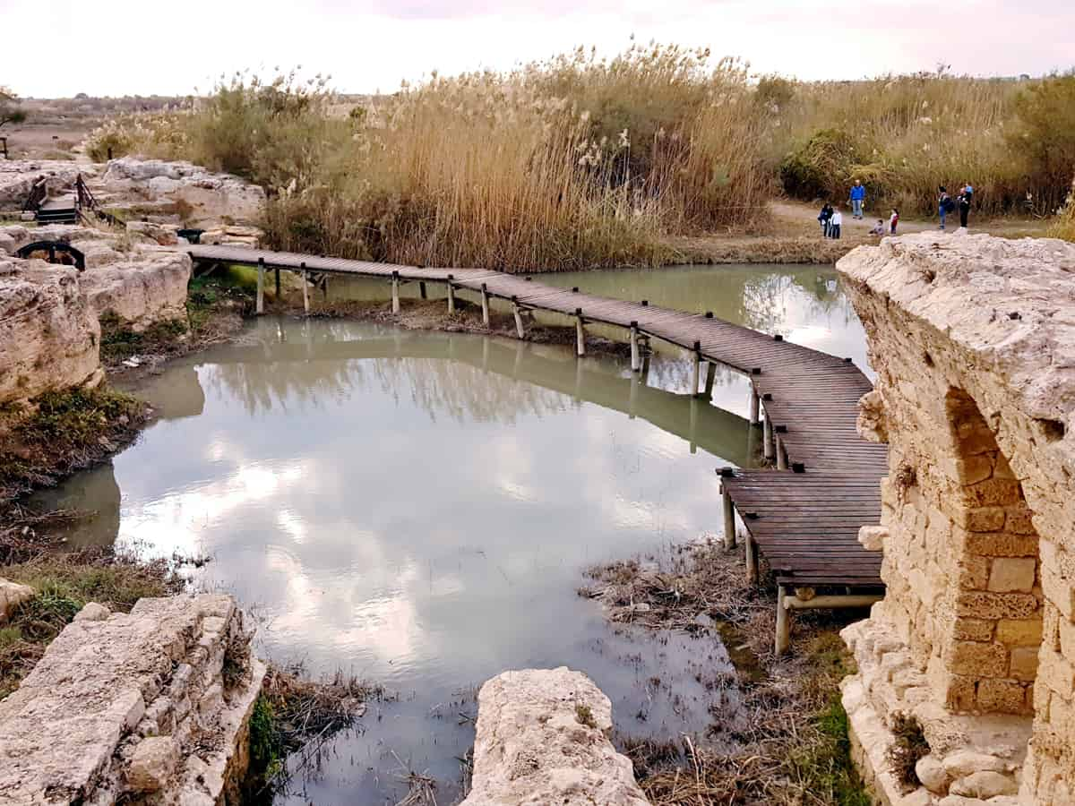 Visiting Nahal Taninim Nature Reserve in Israel