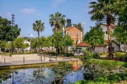 Sarona in Tel Aviv
