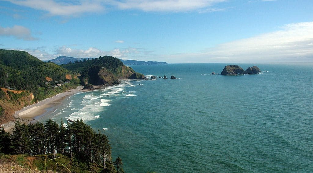 Cape Meares and the Three Arch Rocks