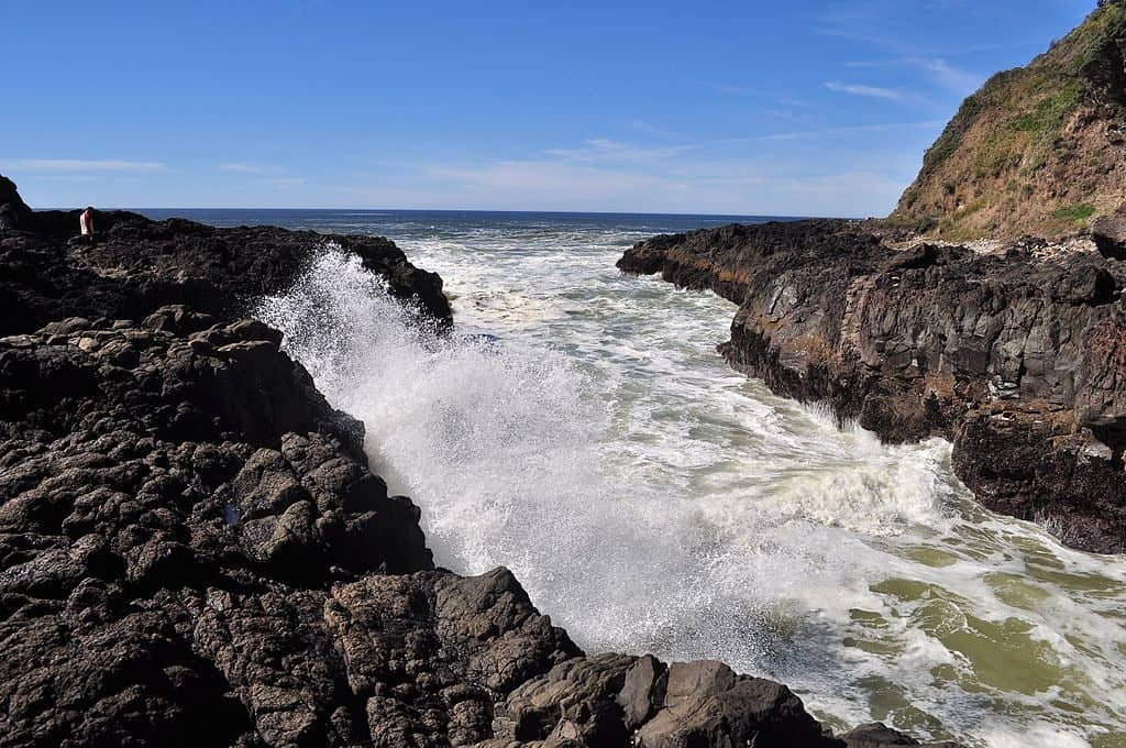 The Devil's Churn, Cape Perpetua, Oregon