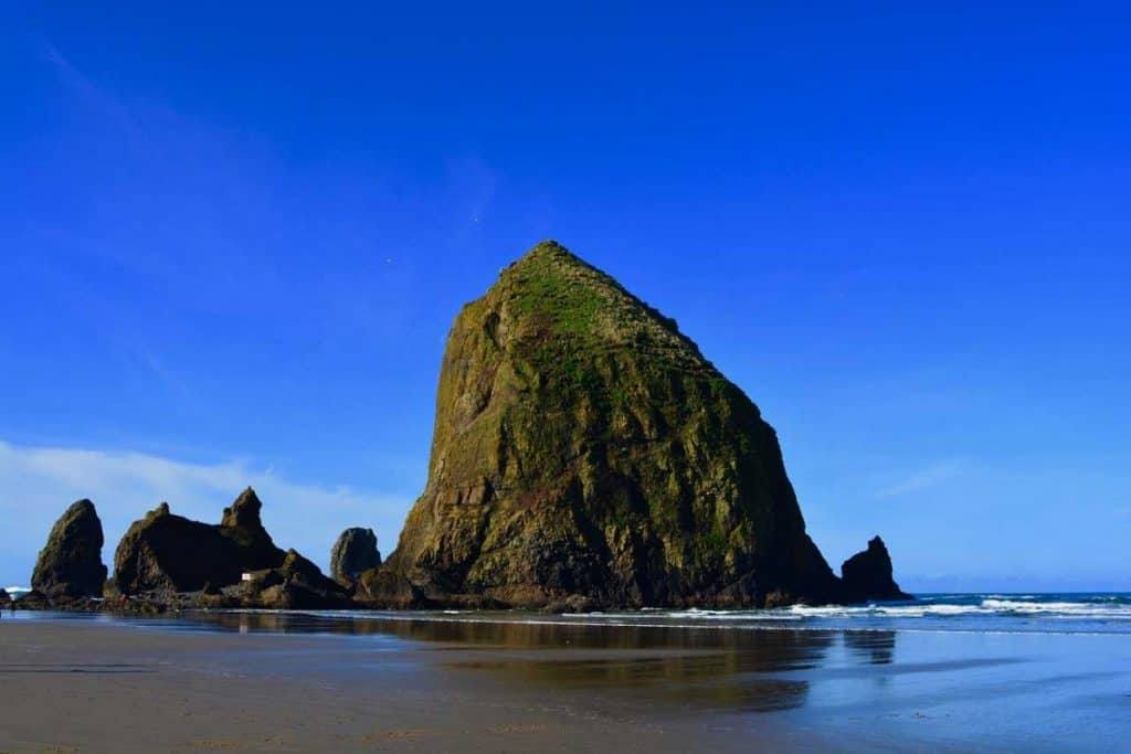 Known as one of the Oregon Coast's most recognizable attractions, Haystack Rock is one stop you have to make