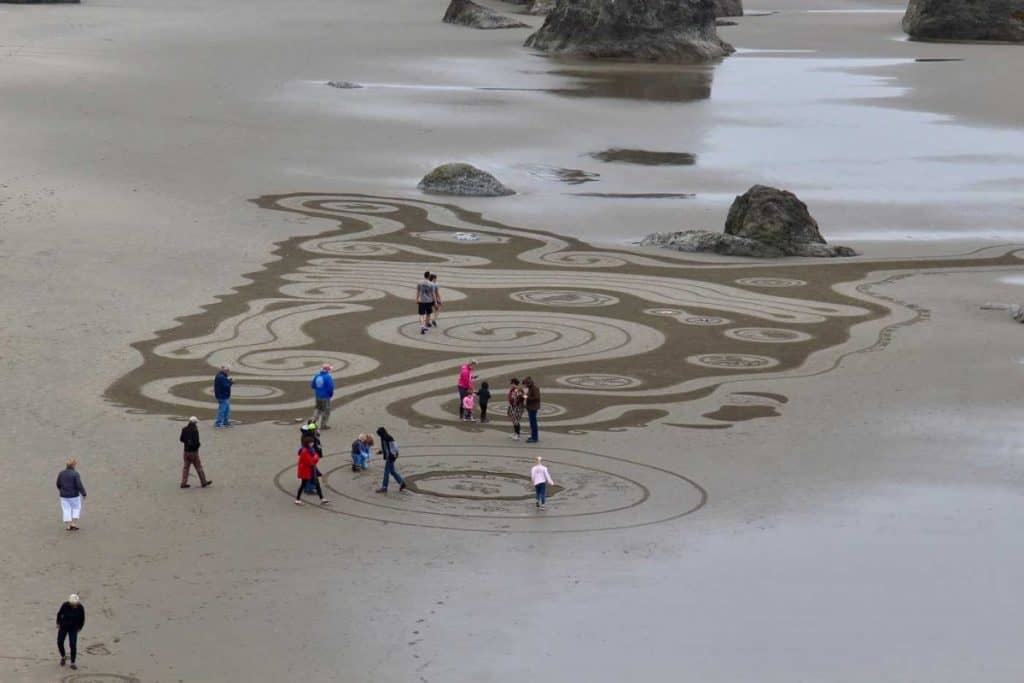 Sacred Journeys: Circles in the Sand